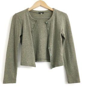 Content Vintage Wool Crop Cardigan O0295